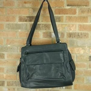 Fossil Black Leather Handbag